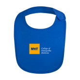 Royal Baby Bib-NYIT College of Osteopathic Medicine - Horizontal
