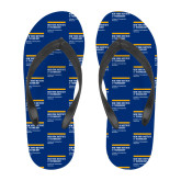 Full Color Flip Flops-NYIT College of Osteopathic Medicine - Horiontal