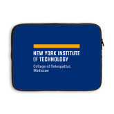 13 inch Neoprene Laptop Sleeve-NYIT College of Osteopathic Medicine - Horiontal
