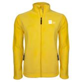 Fleece Full Zip Gold Jacket-NYIT College of Osteopathic Medicine - Horizontal