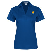 Ladies Royal Performance Fine Jacquard Polo-NYIT College of Osteopathic Medicine - Vertical
