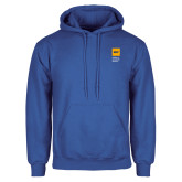 Royal Fleece Hoodie-NYIT College of Osteopathic Medicine - Vertical
