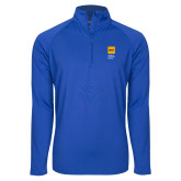 Sport Wick Stretch Royal 1/2 Zip Pullover-NYIT College of Osteopathic Medicine - Vertical