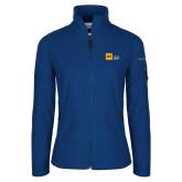 Columbia Ladies Full Zip Royal Fleece Jacket-NYIT College of Osteopathic Medicine - Horizontal