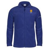 Columbia Full Zip Royal Fleece Jacket-NYIT College of Osteopathic Medicine - Vertical