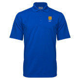 Royal Mini Stripe Polo-NYIT College of Osteopathic Medicine - Vertical