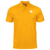 Under Armour Gold Performance Polo-NYIT College of Osteopathic Medicine - Horizontal