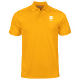 Under Armour Gold Performance Polo-NYIT College of Osteopathic Medicine - Vertical