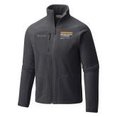 Columbia Full Zip Charcoal Fleece Jacket-NYIT College of Osteopathic Medicine - Horiontal