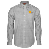 Red House Grey Plaid Long Sleeve Shirt-NYIT College of Osteopathic Medicine - Horizontal