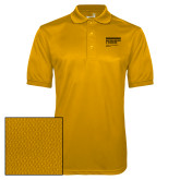 Gold Dry Mesh Polo-NYIT College of Osteopathic Medicine - Horiontal