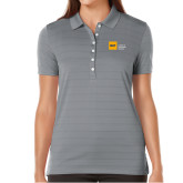 Ladies Callaway Opti Vent Steel Grey Polo-NYIT College of Osteopathic Medicine - Horizontal