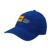 Royal OttoFlex Unstructured Low Profile Hat-NYIT College of Osteopathic Medicine - Horizontal