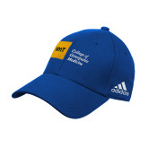 Adidas Royal Structured Adjustable Hat-NYIT College of Osteopathic Medicine - Horizontal