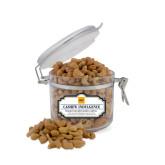 Cashew Indulgence Small Round Canister-NYIT Logo