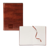 Fabrizio Brown Soft Cover Journal-NYIT College of Osteopathic Medicine - Horizontal Engraved