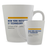 Full Color Latte Mug 12oz-NYIT College of Osteopathic Medicine - Horiontal