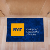Full Color Indoor Floor Mat-NYIT College of Osteopathic Medicine - Horizontal