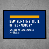 Full Color Indoor Floor Mat-NYIT College of Osteopathic Medicine - Horiontal