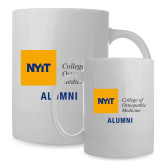 Alumni Full Color White Mug 15oz-Aumni
