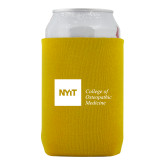 Neoprene Gold Can Holder-NYIT College of Osteopathic Medicine - Horizontal
