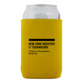 Neoprene Gold Can Holder-NYIT College of Osteopathic Medicine - Horiontal