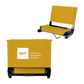 Stadium Chair Gold-NYIT College of Osteopathic Medicine - Horizontal
