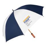 62 Inch Navy/White Vented Umbrella-Emigre Physician Program