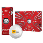 Callaway Chrome Soft Golf Balls 12/pkg-NYIT College of Osteopathic Medicine - Horizontal