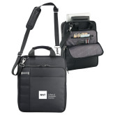 Kenneth Cole Black Vertical Checkpoint Friendly Messenger-NYIT College of Osteopathic Medicine - Horizontal