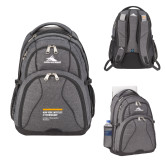 High Sierra Swerve Graphite Compu Backpack-NYIT College of Osteopathic Medicine - Horiontal