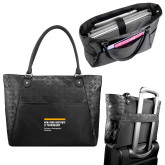 Sophia Checkpoint Friendly Black Compu Tote-NYIT College of Osteopathic Medicine - Horiontal