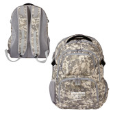 Mercury Digital Camo Compu Backpack-NYIT College of Osteopathic Medicine - Horiontal