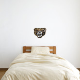 1 ft x 1 ft Fan WallSkinz-Grizzly Head
