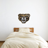 2 ft x 2 ft Fan WallSkinz-Grizzly Head
