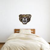 2 ft x 2 ft Fan WallSkinz-Grizzly Head