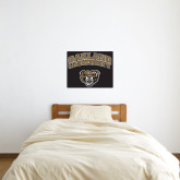 2 ft x 2 ft Fan WallSkinz-Oakland University with Grizzly Head