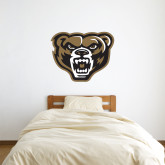 3 ft x 3 ft Fan WallSkinz-Grizzly Head