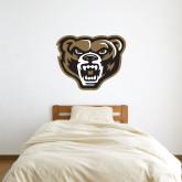 3 ft x 3 ft Fan WallSkinz-Grizzly Head