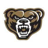 Medium Decal-Grizzly Head, 8 inches tall