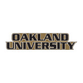 Medium Decal-Oakland University, 8 inches wide