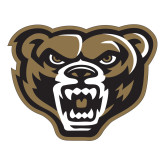 Large Decal-Grizzly Head, 12 inches tall