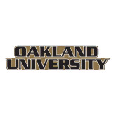Large Decal-Oakland University, 12 inches wide