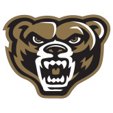 Extra Large Decal-Grizzly Head, 18 inches tall