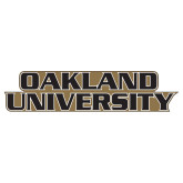 Extra Large Decal-Oakland University, 18 inches wide