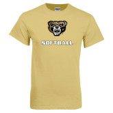 Champion Vegas Gold T Shirt-Softball