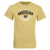 Champion Vegas Gold T Shirt-Golden Grizzlies Basketball Arched