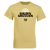 Champion Vegas Gold T Shirt-Golden Grizzlies Volleyball Stacked