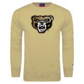 Champion Vegas Gold Fleece Crew-Grizzly Head