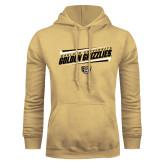 Champion Vegas Gold Fleece Hoodie-Slanted Golden Grizzlies Stencil